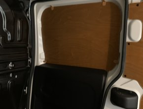 Fiat Deurpanelen Opel Combo vanaf 2010 schuifdeur bovenzijde