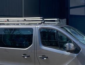 Renault Aluminium imperiaal XTRA Renault Trafic vanaf 2014 L1 H1 inclusief spoiler en opsteekrol