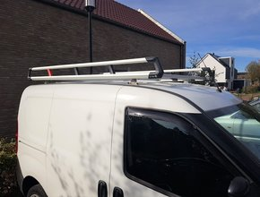 Toyota Aluminium imperiaal XTRA Toyota Pro Ace vanaf 2016 L3 H1 Long Worker inclusief opsteekrol