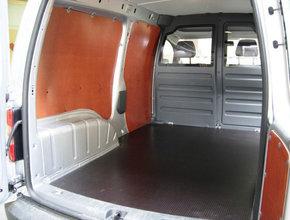 Volkswagen Wandbetimmering Volkswagen Caddy Cargo Maxi L2 uitvoering met enkele schuifdeur