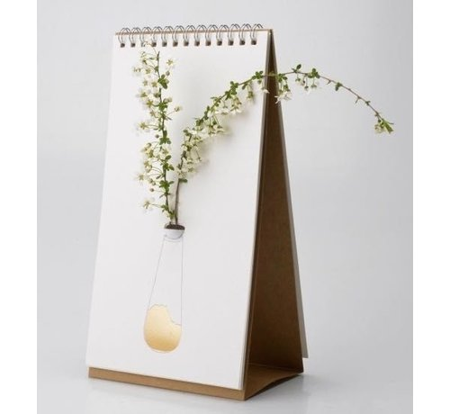 Flip vase gold