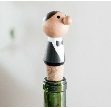 Kikkerland Wijnstop ober!