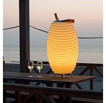 Kooduu Kooduu Synergy S: Lamp, Speaker en Cooler ineen