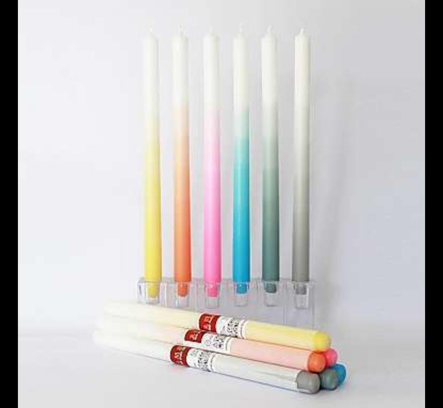 6 Gradient kaarsen
