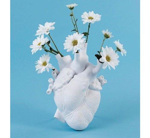 Seletti Love in Bloom heart vase