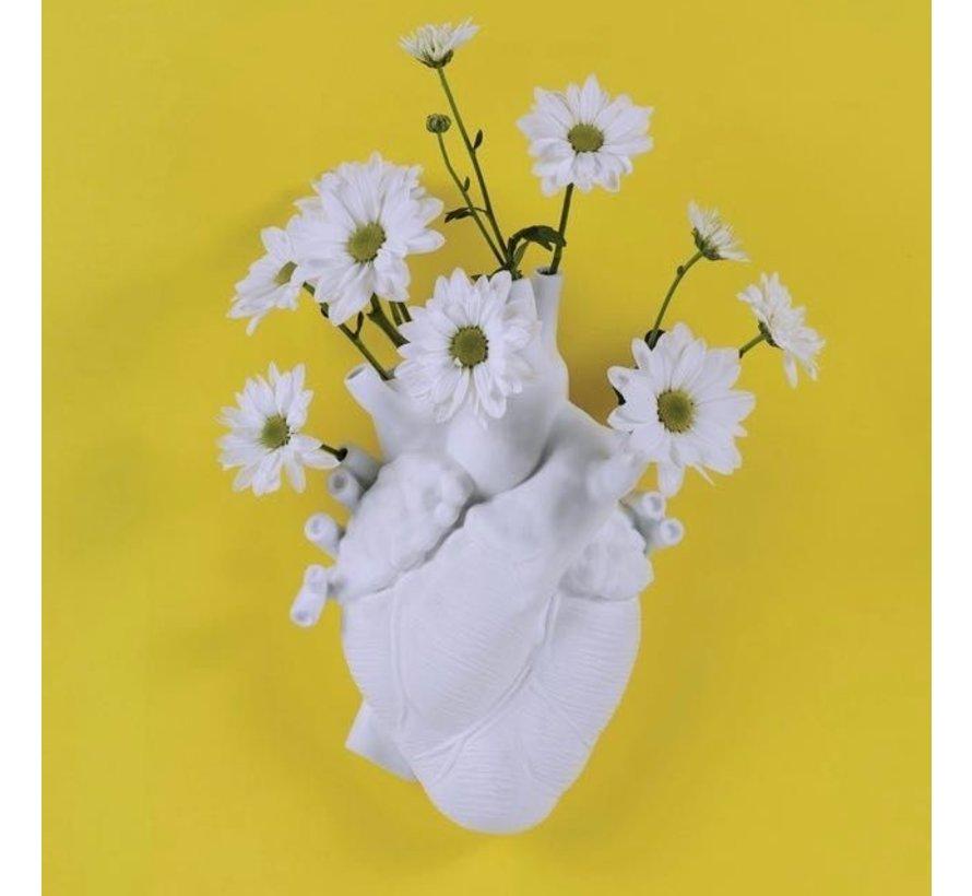 Love in Bloom heart vase