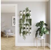 Floralink bloempotten / bakjes voor aan je muur