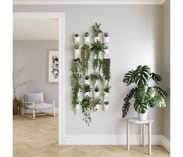 Umbra Floralink bloempotten / bakjes voor aan je muur