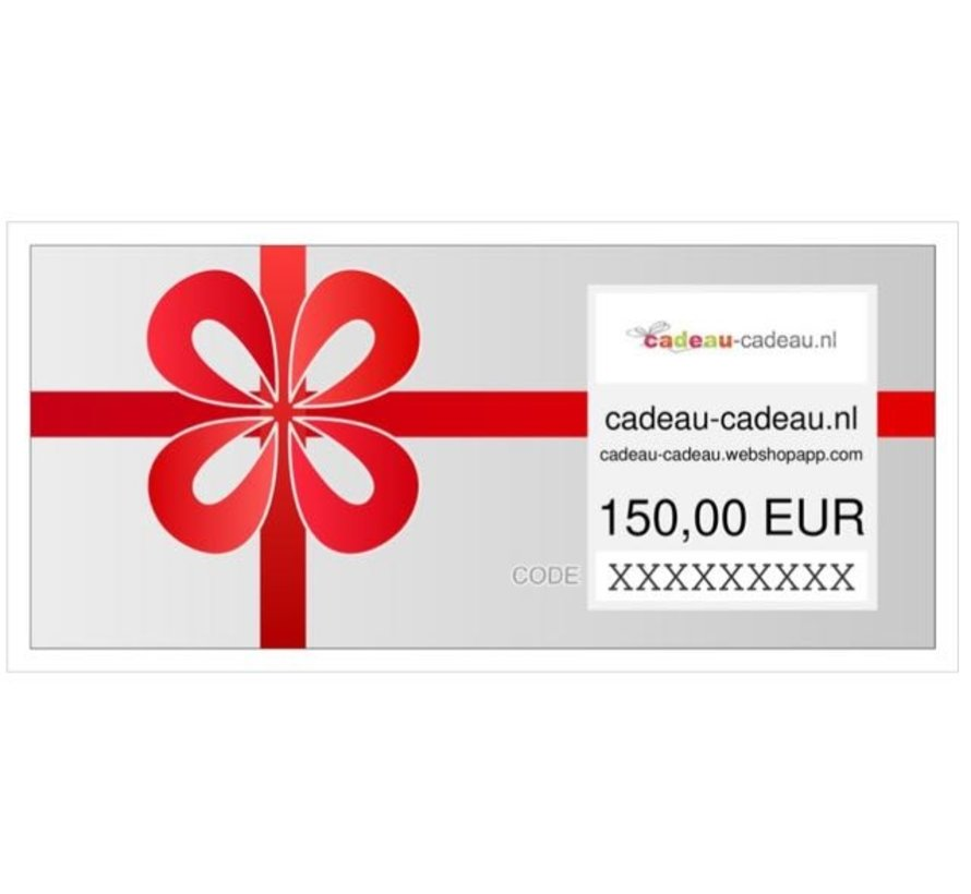 Cadeaubon direct printen of mailen
