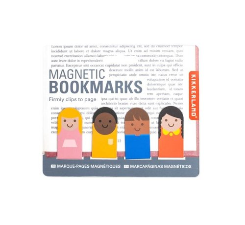 Kikkerland Magnetic Bookmarks