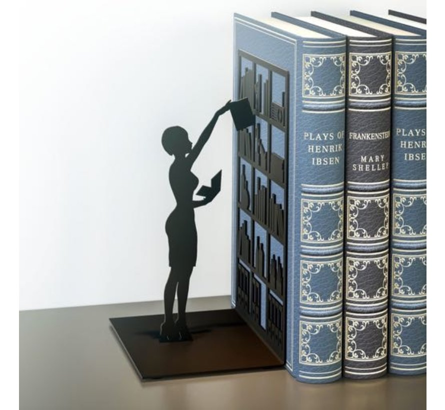 Bookend the library