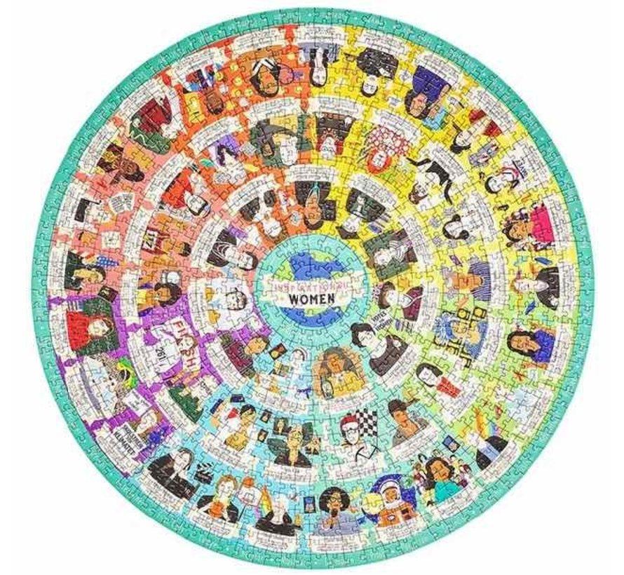 Puzzel Inspirational women (1000 stukjes)