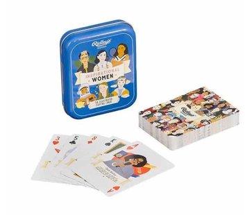 Ridley's Inspirational women speelkaarten