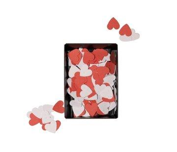 Hartjesconfetti van bloemenzaadjes