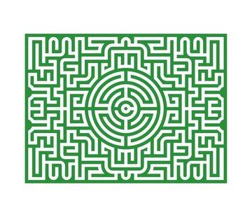 Kikkerland Puzzel Labyrinth (Studio Job, 1000 stukjes)