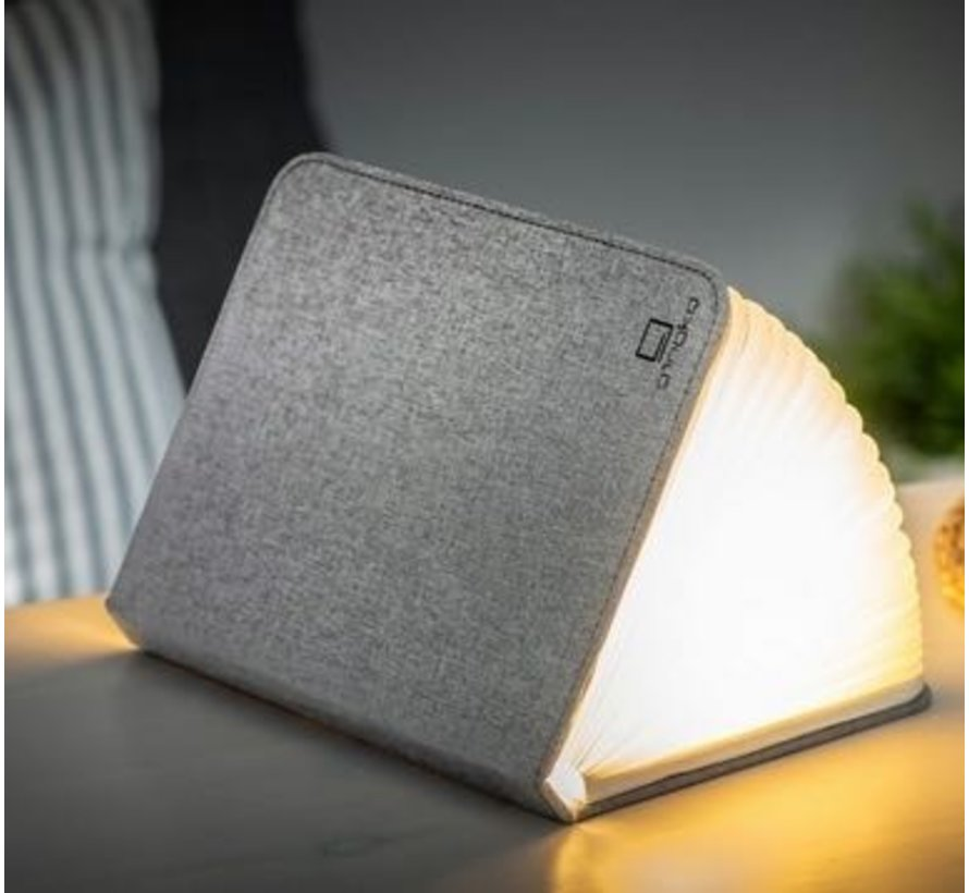 Gingko Smart book light  linnen
