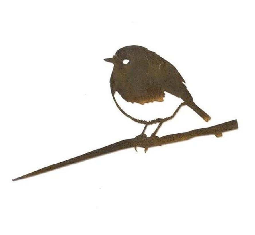 Metal Bird Roodborst