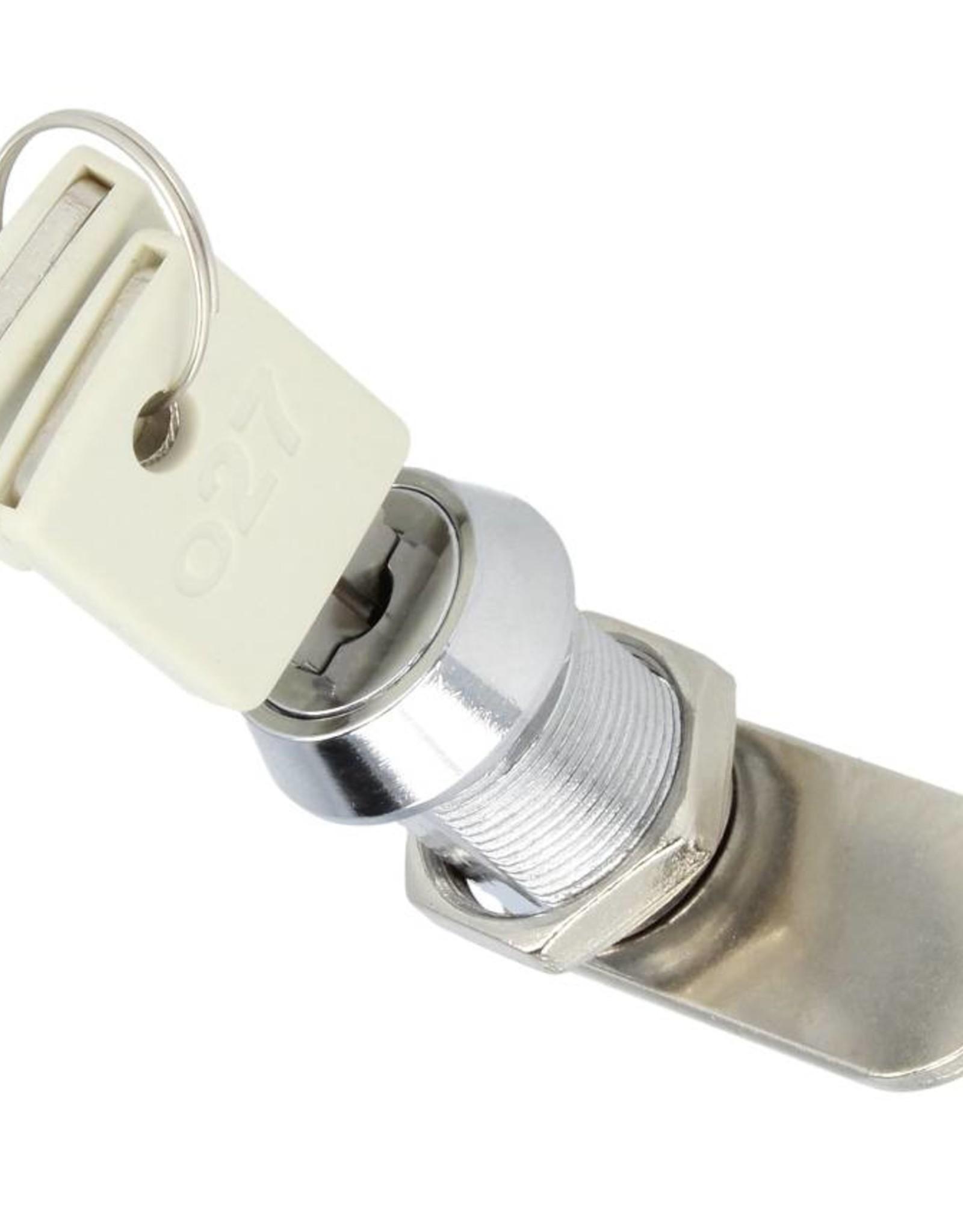 o27 Zylinderschloss mit 2 Schlüsseln