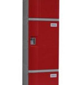 o27 Kunststoff Fächerschrank - S-II-3 - Zylinderschloss