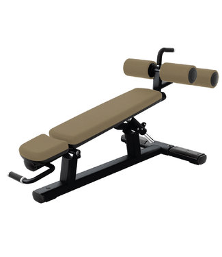 Life Fitness adjustable decline abdominal bench