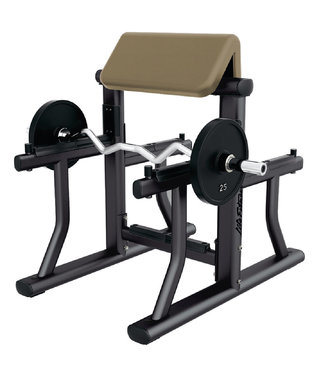 Life Fitness arm curl bench