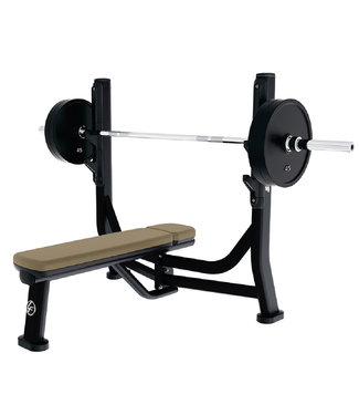 Life Fitness olympic flat bench