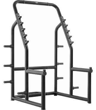 TechnoGym squat rack