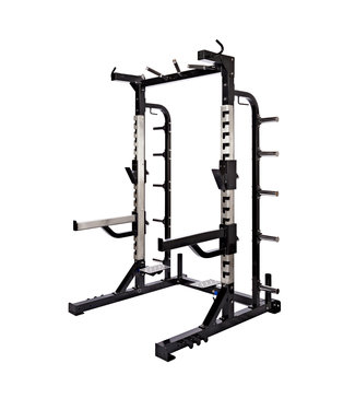 Athletic Performance Half Rack - Black Line
