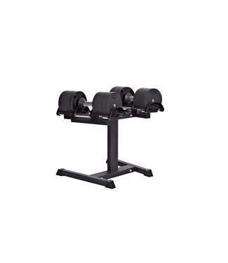 Athletic Performance Adjustable Dumbbellset + Rack