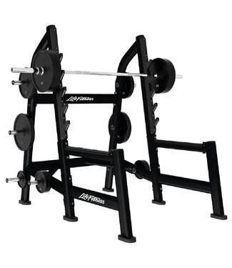 Life Fitness olympic squat rack