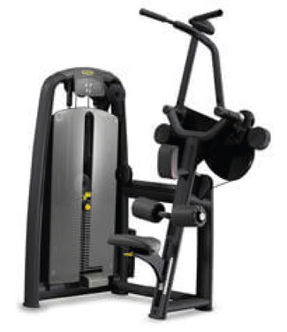 TechnoGym selection pulldown