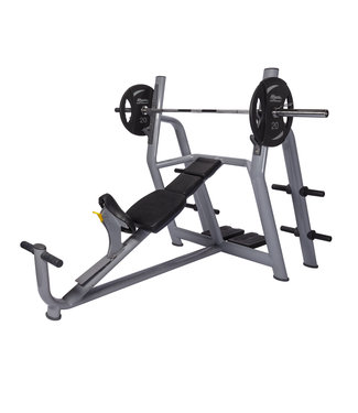 Athletic Performance Olympic Incline Bench Blue Line