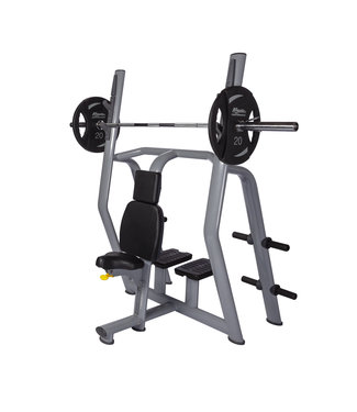 Athletic Performance Olympic Vertical Bench Blue Line