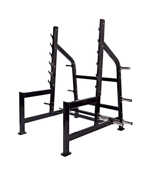 Athletic Performance Squat Rack - Black Line