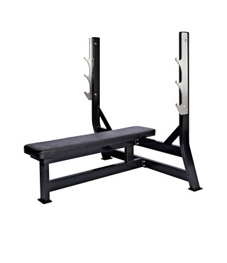 Athletic Performance Olympic Flat Bench - Black Line