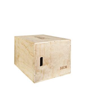 Athletic Performance Plyo Box wood
