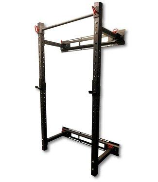 Athletic Performance Wall Mounted Folding Half Rack