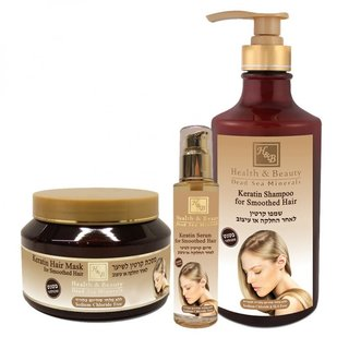 Keratin hair repair set