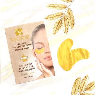 24K Gold Hydrogel Verstevigend oogmasker