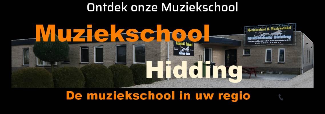 Ontdek onze Muziekschool bij Muziekhuis Hidding