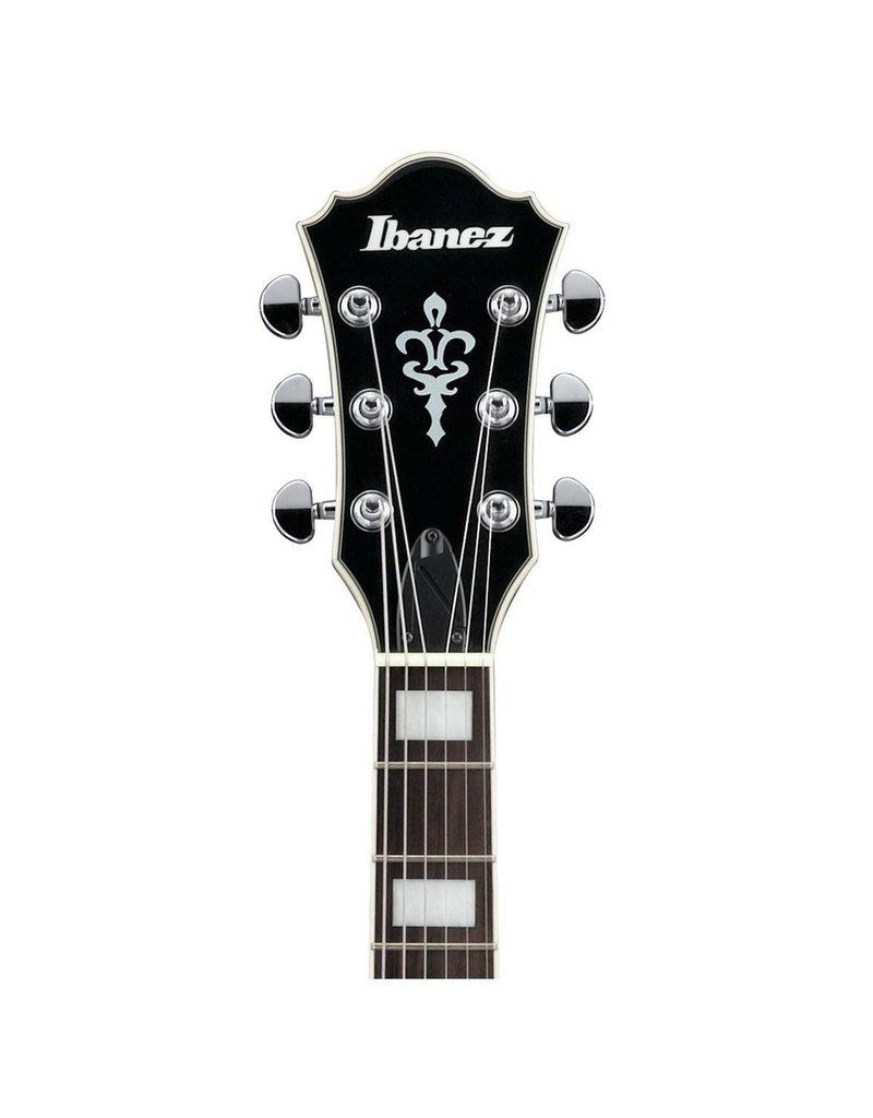 Ibanez Ibanez AF75BS / Elektrische gitaar Hollow Bodie