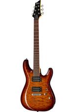 Schecter Schecter C-6 Plus / Elektrische gitaar Vintage Sunburst