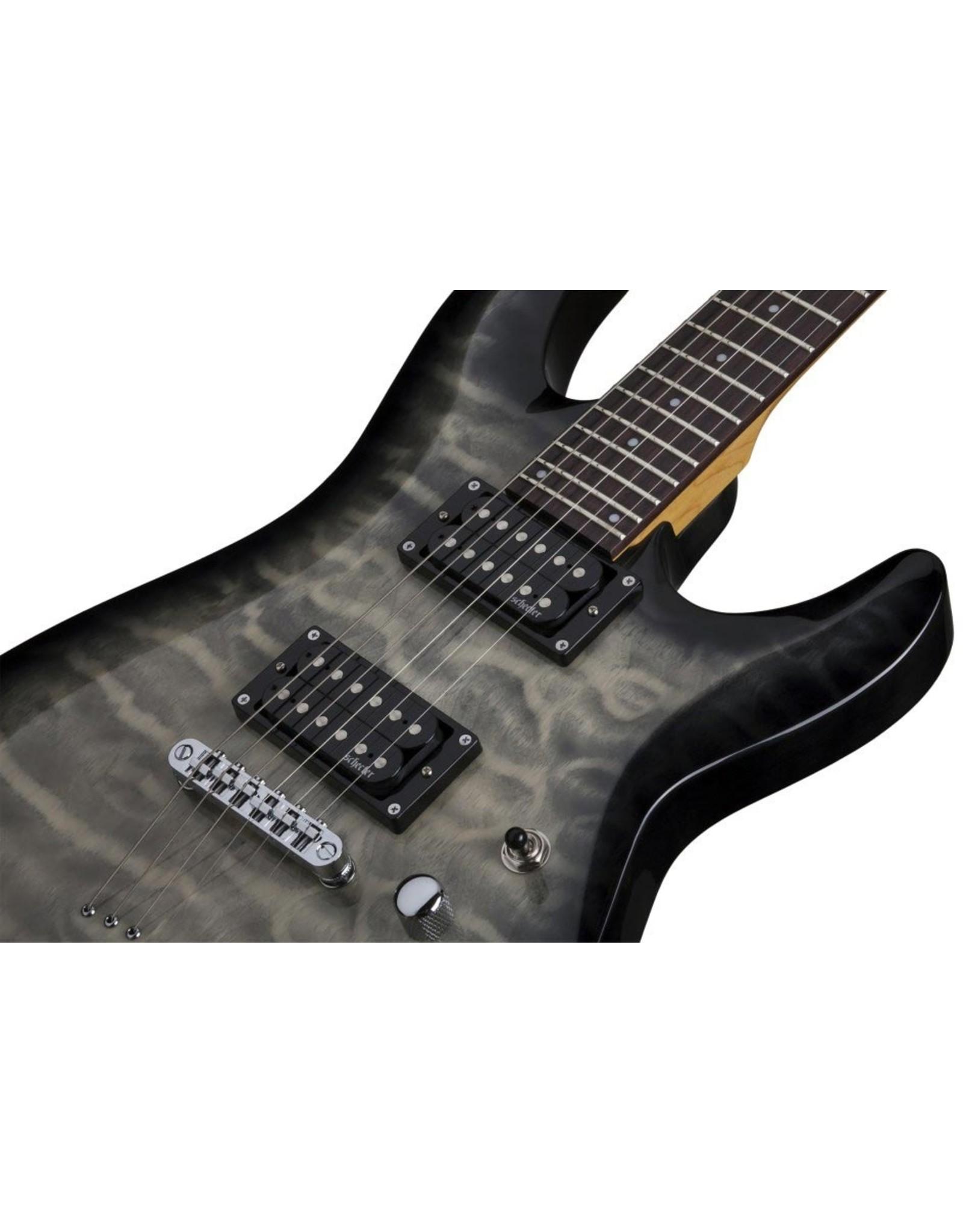 Schecter Schecter C-6 Plus /  Elektrische gitaar Charcoal Burst