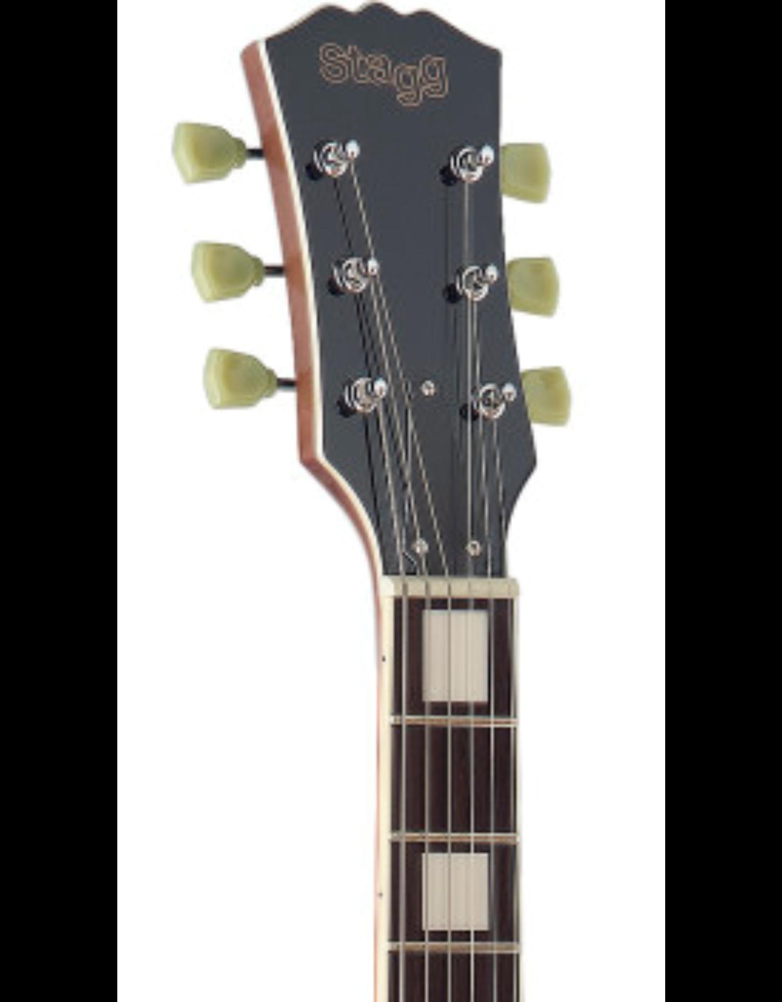 Stagg Stagg  SEL-ZEB-BK / Elektrische gitaar L serie, Zebra