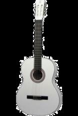 Gomez Gomez 001 4/4 Wit klassieke gitaar