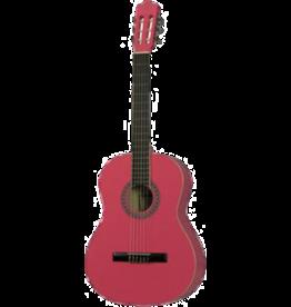 Gomez Gomez 001 4/4 Pink klassieke gitaar