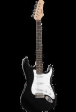 Morgan MORGAN GPST-251-BK / Elektrische gitaar