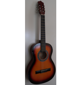 Gomez GOMEZ 036 Klassieke gitaar 3/4 Vintage Sunburst
