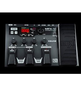 NUX NUX MFX-10 Multi-Effects Processor voor de gitaar.