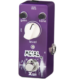 Xvive Mini Pedal Metal Distortion V3-METAL